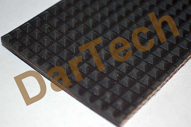 covor de cauciuc antiderapant cu insertie textila