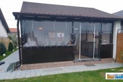 închidere terasa la locuință casă familială