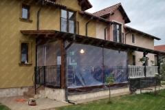 folie PVC transparent Inchidere terasa la Timisoara, protectie impotriva vantului