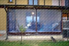 Folie cristal inchidere terasa Timisoara
