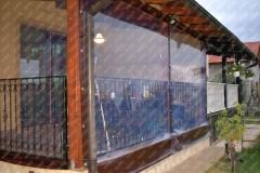 Inchidere terara cu folie PVC
