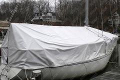 prelata pvc protectie barca