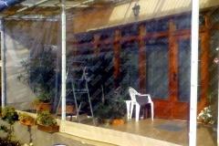 prelata pvc termoziolanta la terasa locuinta amenajare gradina