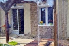 pvc transparent pentru terasa