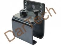 sistem glisare C rail pentru perdele PVC