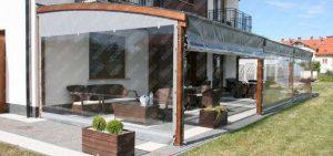 prelata PVC terasa restaurant