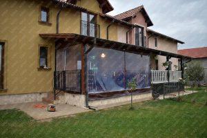 PVC transparent la inchidere terasa