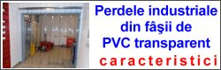 perdea PVC transparent