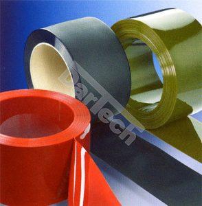 PVC color si transparent
