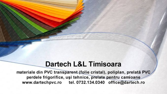 perdea fasii PVC transparent