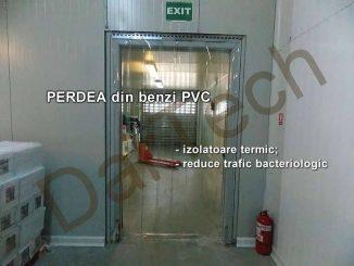 perdea fasii PVC frigorific