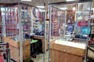 perdele PVC și folie cristal
