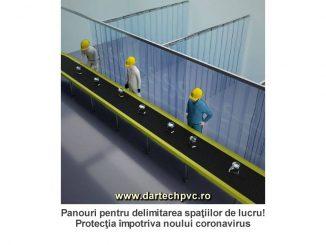 panouri delimitare protectie coronavirus