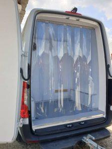 perdea frigorifice din PVC transparent