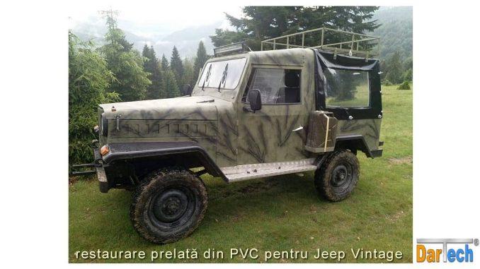 prelata PVC Jeep