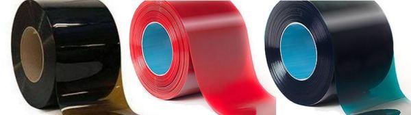 culori perdea PVC protectie sudura