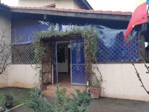 inchidere terasa cu folie PVC transparent