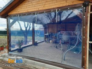 folie PVC cristal inchidere terasa