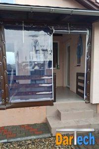 inchideri terase cu folie PVC transparent