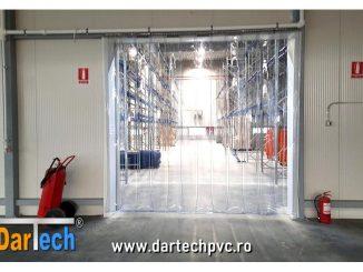 perdea din PVC transparent